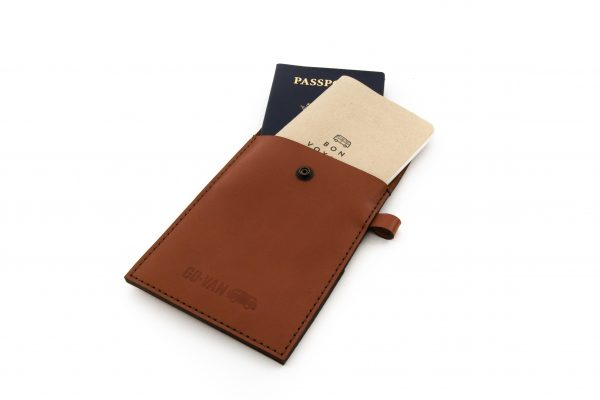Travel Journal Leather Case - Tan