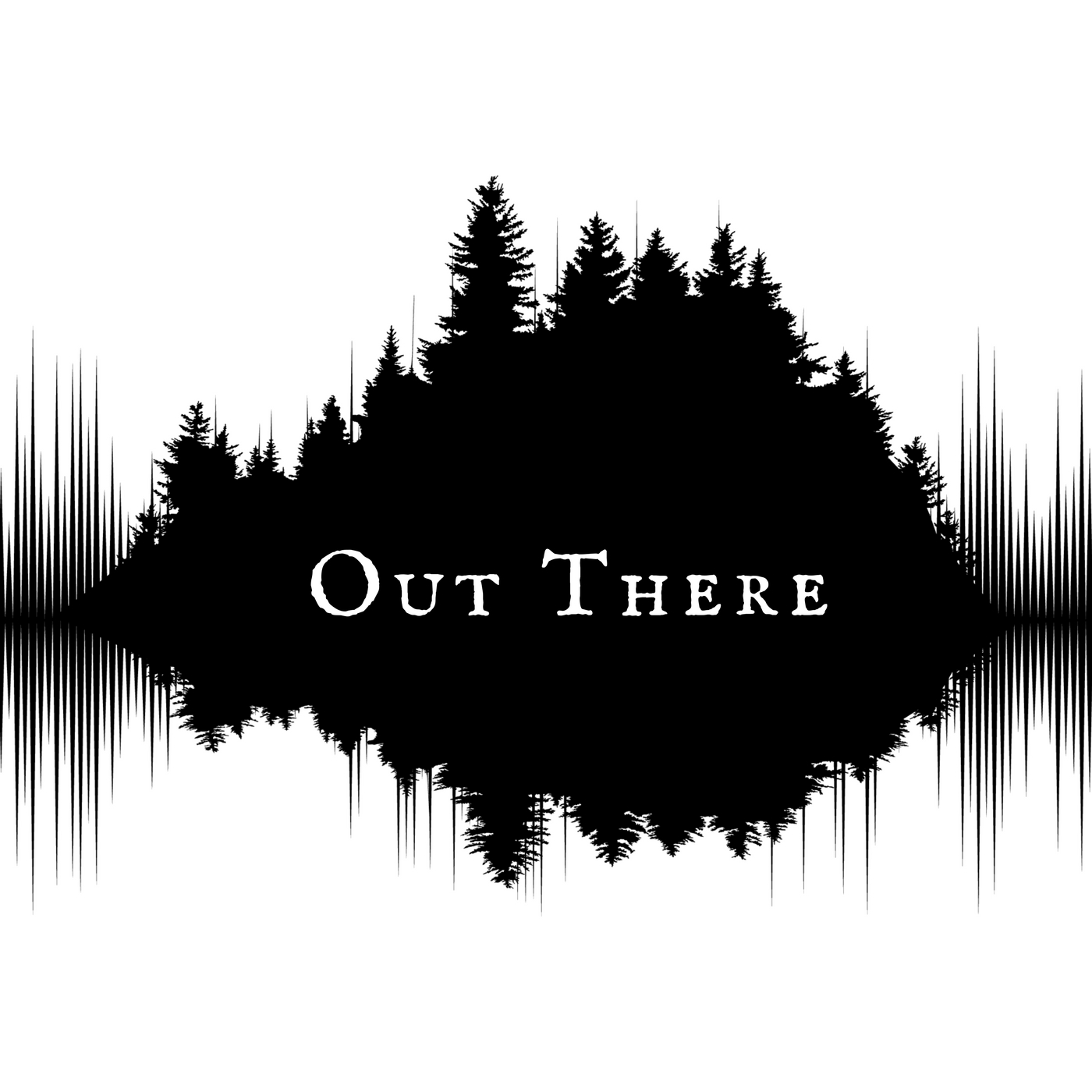 out there logo for audio podcast
