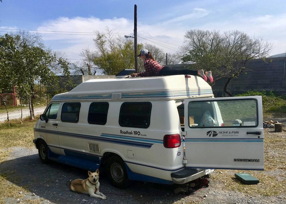 roadtrek 190 van - finding dog-friendly campsites